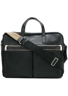 Paul Smith logo laptop bag