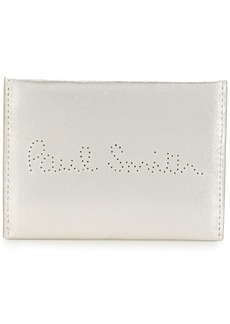 Paul Smith logo perforated cardholder