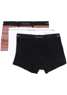 Paul Smith logo waistband boxer three-pack set