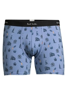 Paul Smith London Print Trunks