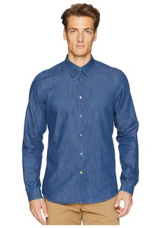 Paul Smith Long Sleeve Chambray Shirt