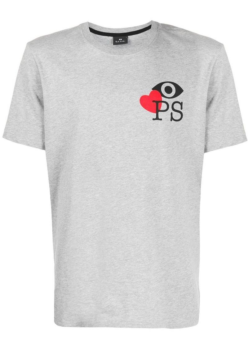 Paul Smith Love PS print T-shirt