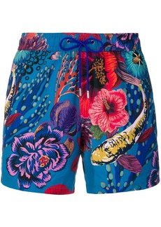Paul Smith marine print swimming shorts