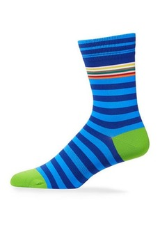 Paul Smith Men's Striped Knit Socks