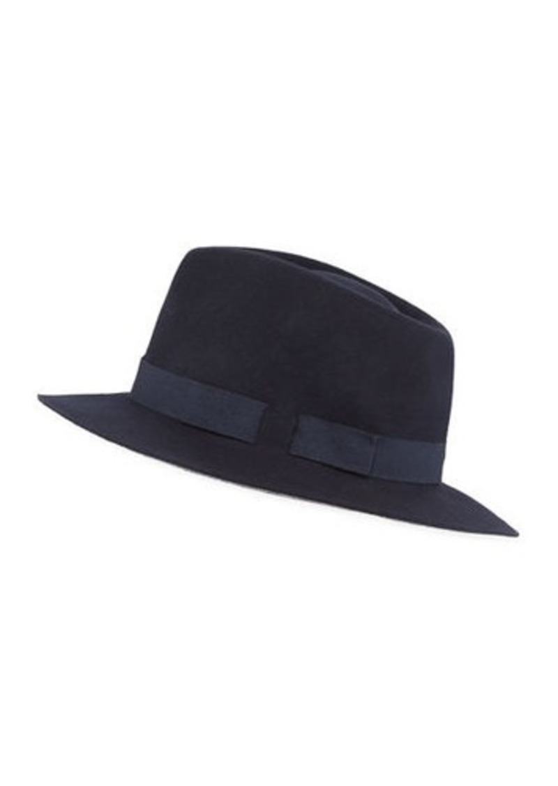 Paul Smith Men's Wool Felt Fedora Hat