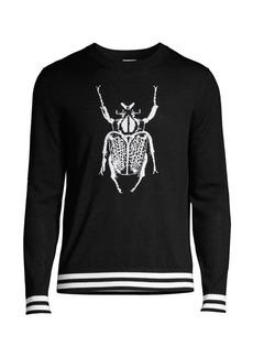 Paul Smith Merino Wool Beetle Sweater