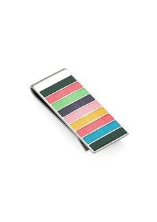 Paul Smith Mini Multicolor Stripe Money Clip