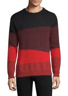 Paul Smith Mohair Colorblock Sweater