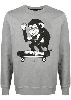 Paul Smith monkey print sweatshirt