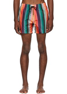 Paul Smith Multicolor Artist Stripe Swim Shorts
