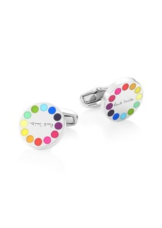 Paul Smith Multicolor Circle Cufflinks