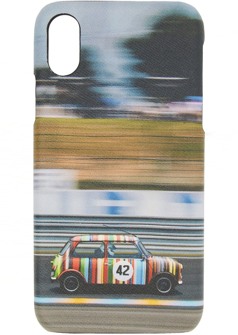 Paul Smith Multicolor Mini Print iPhone X Case