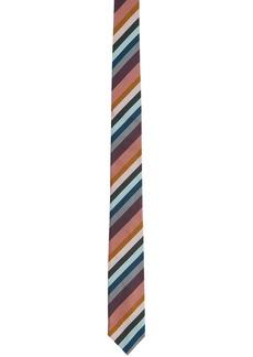Paul Smith Multicolor Silk Stripe Tie