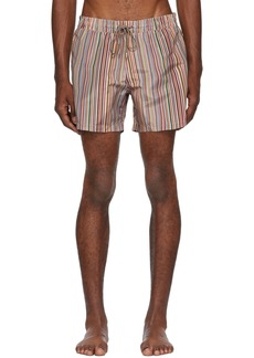 Paul Smith Multicolor Striped Swim Shorts