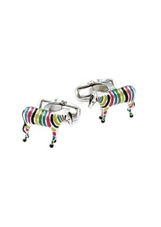 Paul Smith Multicolor Zebra Cufflinks