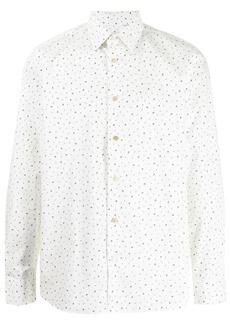 Paul Smith music note print button-down shirt
