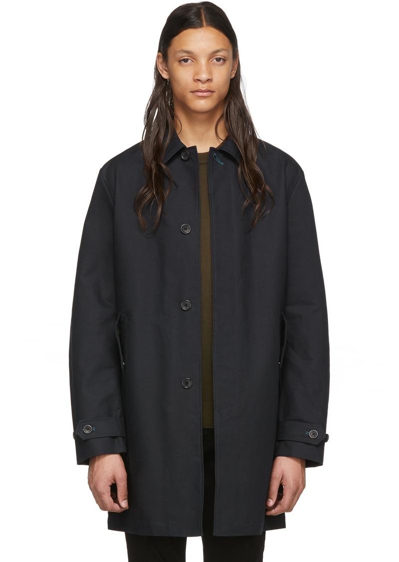 Paul Smith Navy 2-in-1 Mac Coat