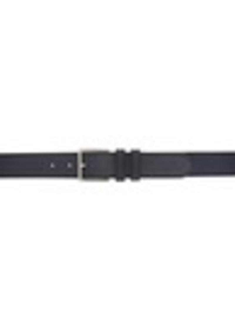Paul Smith Navy Nubuck Belt