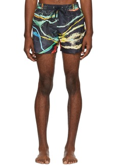 Paul Smith Navy Ropes Classic Swim Shorts