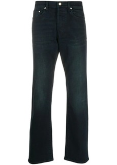 Paul Smith over-dye straight-leg jeans