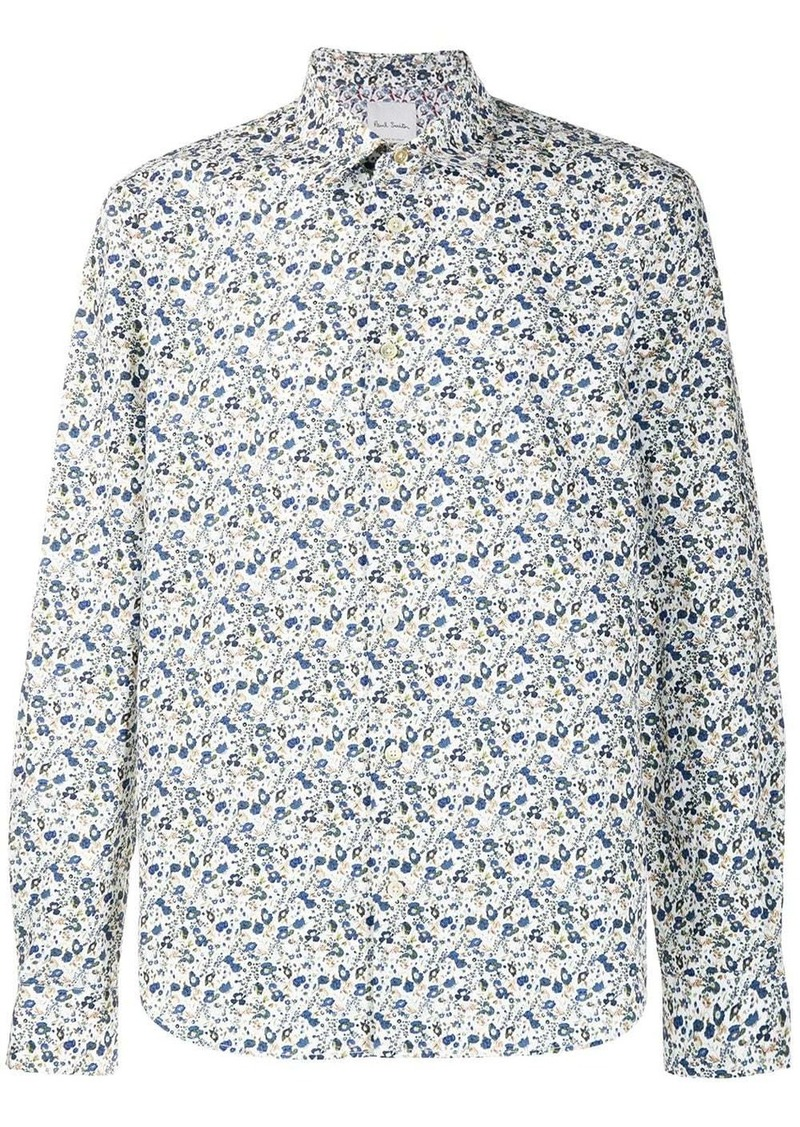 Paul Smith patterned classic shirt