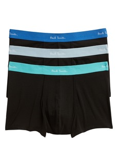 Paul Smith 3-Pack Assorted Square Cut Trunks