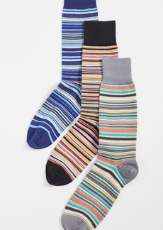 Paul Smith 3 Pack Stripe Socks