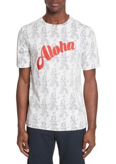 Paul Smith Aloha Print T-Shirt
