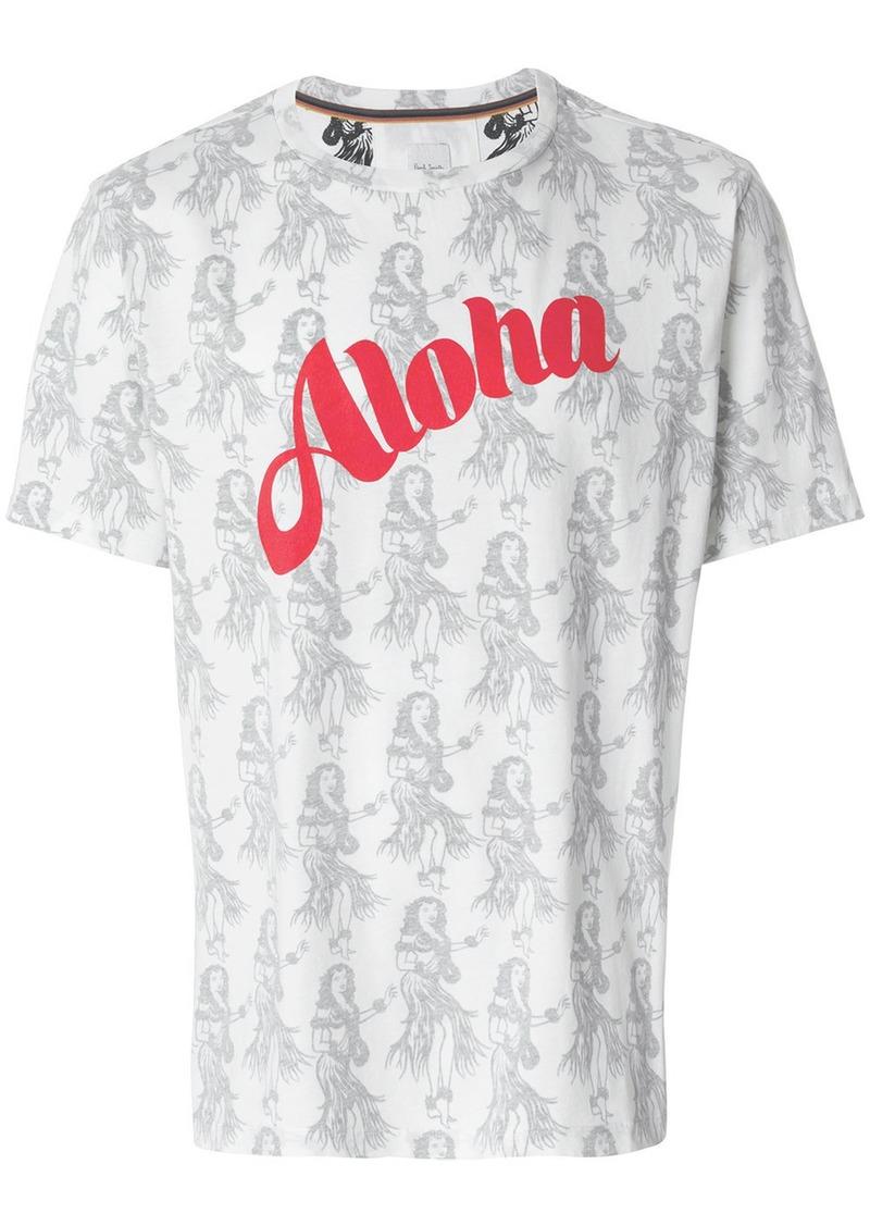Paul Smith Aloha printed T-shirt