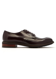 Paul Smith Andrew stitch-front leather derby shoes