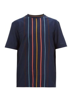 Paul Smith Artist-stripe cotton T-shirt