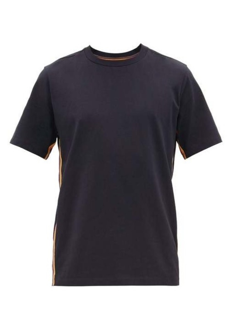 Paul Smith Artist-stripe cotton T-shirt
