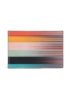 Paul Smith Artist Stripe Credit Card Case