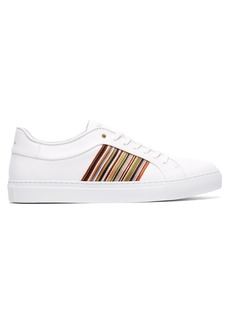 Paul Smith Artist Stripe leather low-top trainers