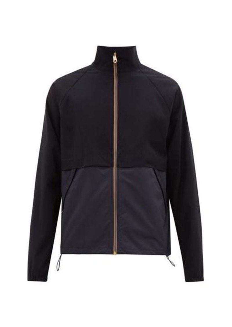 Paul Smith Artist-stripe panelled wool-blend jacket