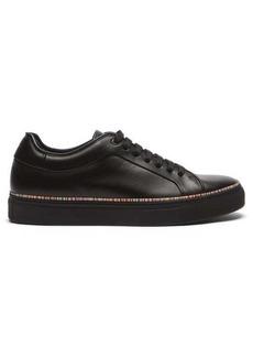 Paul Smith Basso Signature-stripe leather trainers