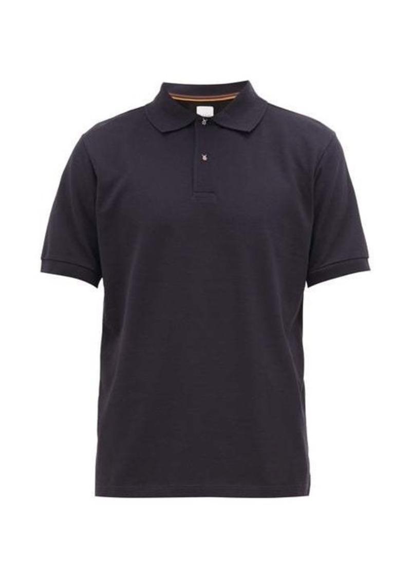 Paul Smith Beetle-button cotton-piqué polo shirt
