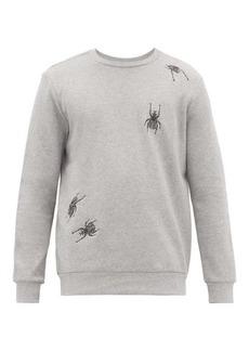 Paul Smith Beetle-embroidered cotton sweatshirt
