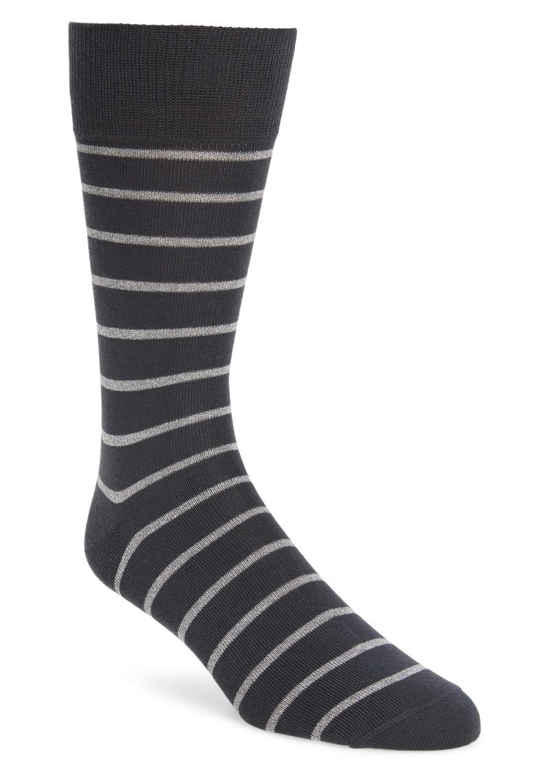 Paul Smith Ben Metallic Stripe Socks