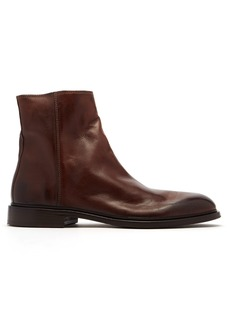 Paul Smith Billy zipped leather boots