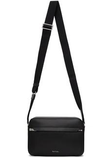 Paul Smith Black Leather Camera Bag