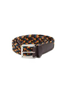 Paul Smith Braided cord-lace belt