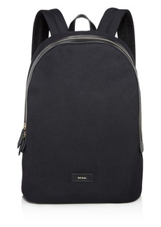 Paul Smith Canvas and Leather Detail Backpack