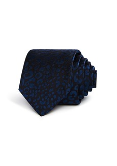 Paul Smith Cheetah Print Skinny Tie