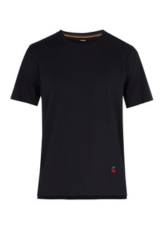 Paul Smith Cherry-embroidered cotton T-shirt