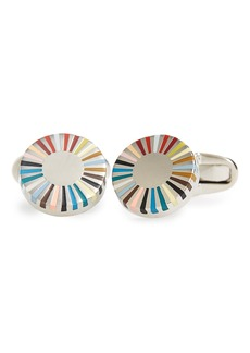 Paul Smith Circular Edge Cuff Links