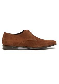 Paul Smith Coney suede derby shoes