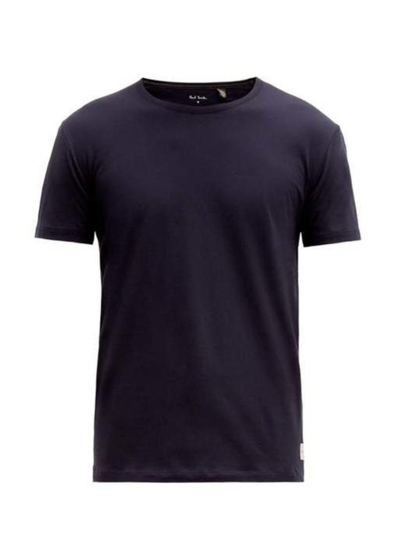 Paul Smith Contrast-stitch cotton T-shirt