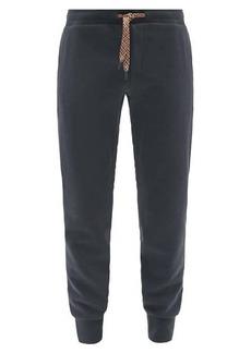 Paul Smith Cotton-blend jersey track pants