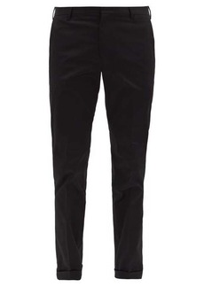 Paul Smith Cotton-blend twill slim chino trousers